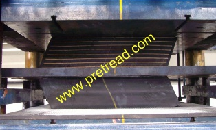bridge bearing load testing, bridge bearing  testing ,test ,vertical load testing test methods ,elastomeric bridge bearing testing, in house testing facility, lateral shear test ,vertical ,vertical load, shear stiffness,elastomeric,www.pretread.com, uae d