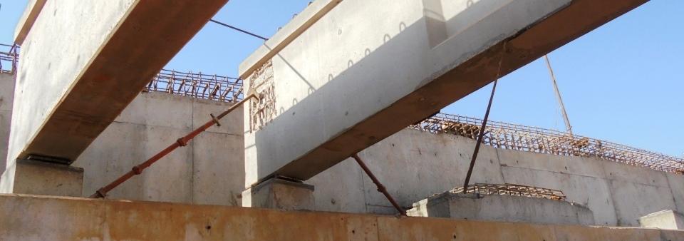 Wad elbasheer flyover project sudan ptfe teflon bridge